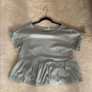 Urban Outfitters peplum tops